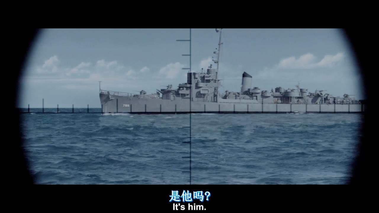 百看不厌的海战片, 美军舰深海猎杀日军潜艇, 被鱼雷锁定险遭反杀