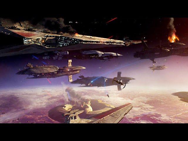 星战前传最惨烈一战,克隆人战争惨败,邪恶西斯尊主一统银河系!