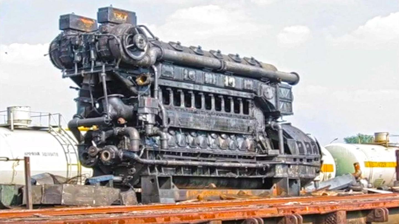 实拍启动百年前的发动机! 打火顺畅, 听声音就知道性能好
