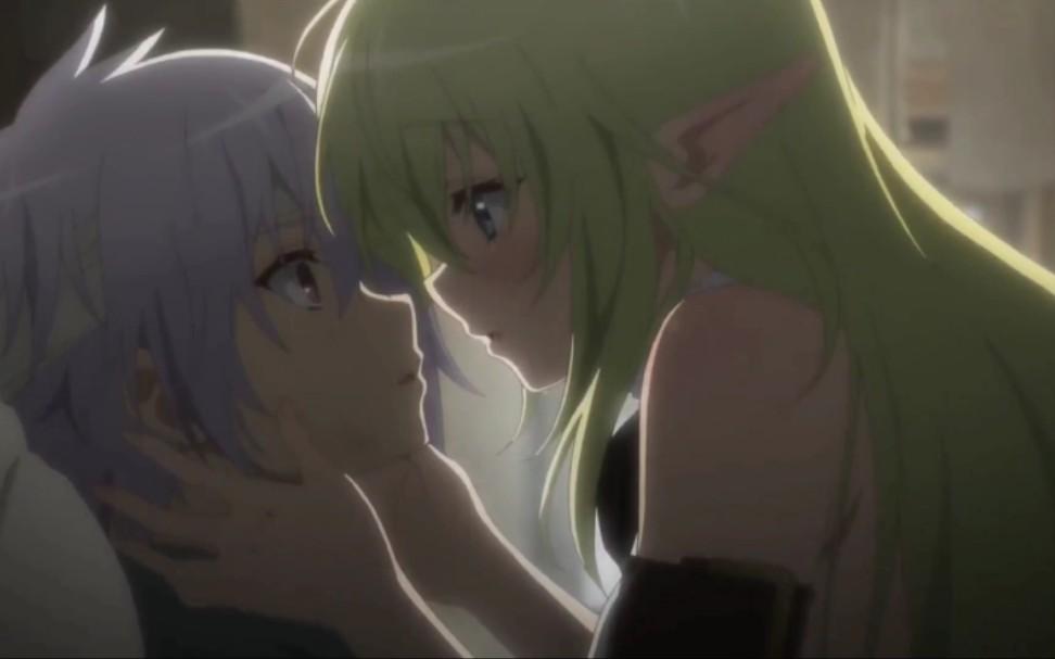 【高能名场面】接吻吗? 带拉丝的那种 - 美少女主动亲吻