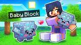 we adopted baby blocks in minecraft!