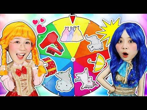 和小伶夏天一起玩有趣的魔法轉盤換裝遊戲吧 小伶玩具 | xiaoling toy