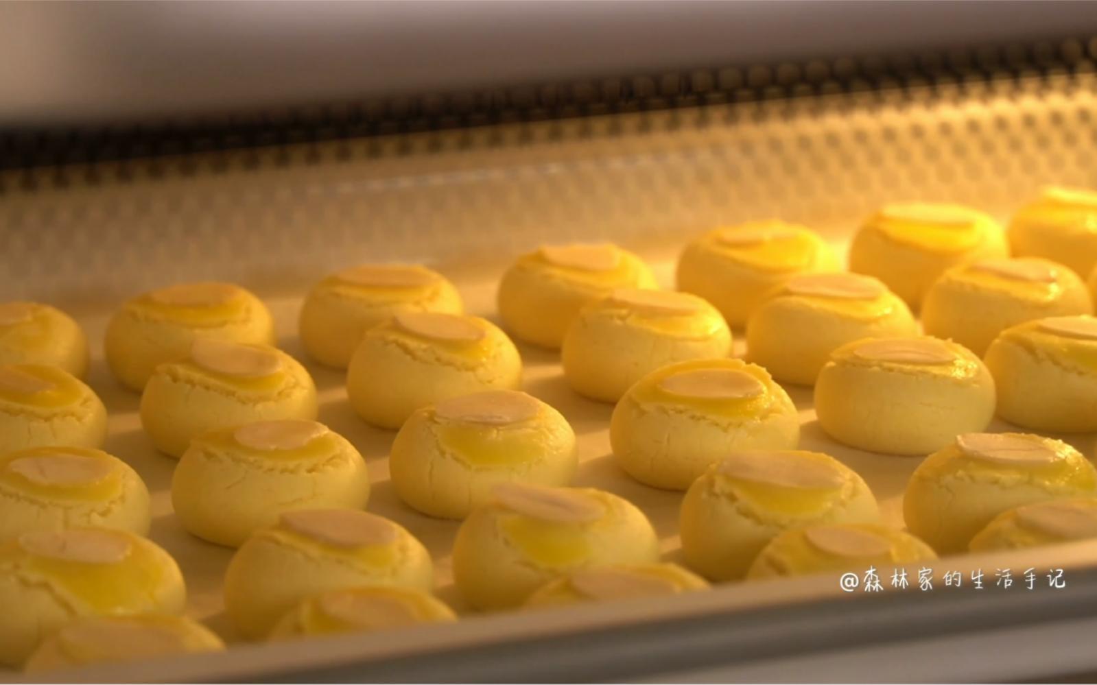 比曲奇还简单 奶香浓郁 酥到掉渣的一口酥