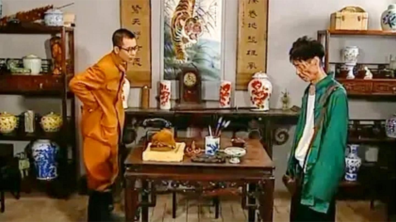 交通站: 贾队长和鬼子这段对话, 据说整个导演组都笑趴了! 太逗了