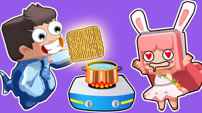 【木鱼】迷你世界 趣味小游戏, 木鱼帮小铃铛寻找泡面!