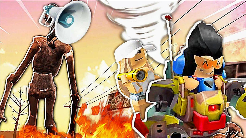 Roblox汽笛人灾害模拟 这是自然灾害模拟器加汽笛人 屌德斯小熙