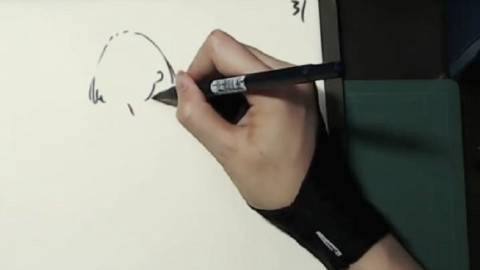 【手绘】RINN的超休闲速写练习(直播录像)