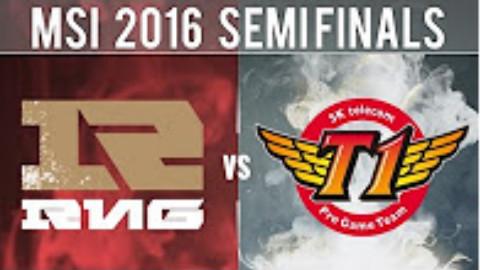 2016 MSI季中邀请赛半决赛 RNG VS SKT 视频录像 英文解说