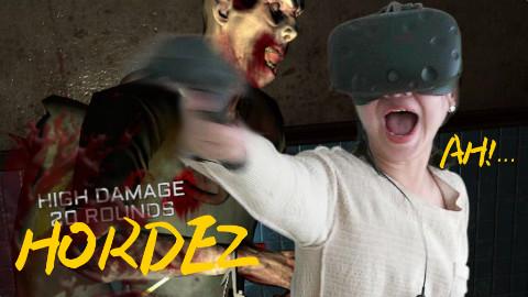 【邱门主玩VR】01:最恐怖VR游戏是这个吗?僵尸部落 Hordez