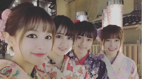【周刊少女SNH】和服美少女夜游京都~