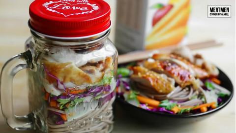 【MEATMEN】鸡肉橙汁荞麦面沙拉