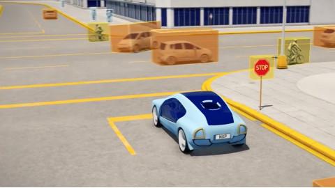 NXP 自动驾驶汽车运算引擎 BlueBox