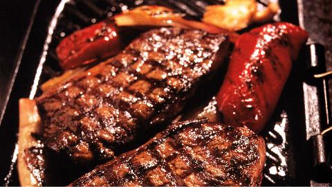不是所有的牛排都叫手切橡树烟熏牛排