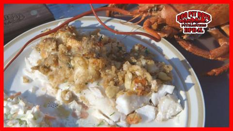 【soso字幕】美国佬土豪BBQ吃法 白兰地龙虾酿鳕鱼 @Sofronio