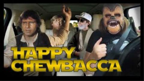【油管大神schmoyoho洗脑新作】Happy Chewbacca