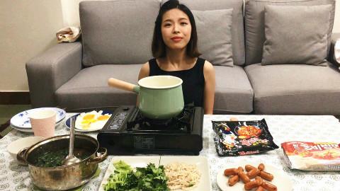 一个人在家就要好好吃饭【宅女锅】
