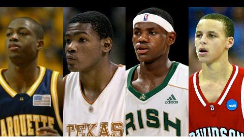 【Top10】现役十大进入NBA之前就名声在外的超级球星