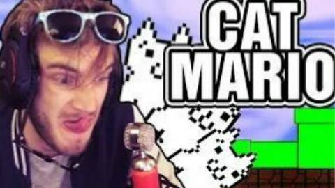 【PewDiePie】猫里奥4 让人精神错乱的游戏! 【中文字幕】