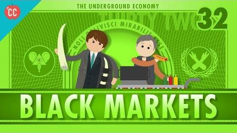 【10分钟速成课:经济学】第32集 - 地下经济