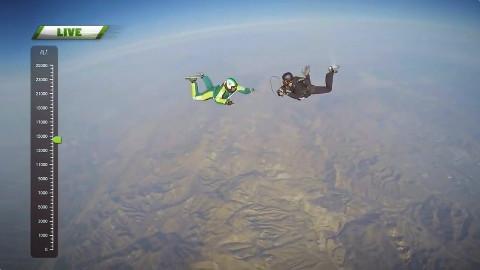 [不带降落伞]从25000英尺的高空跳下![影探-16.8.5]