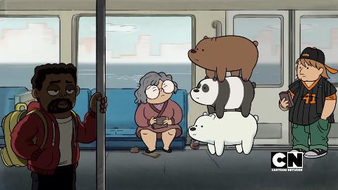熊熊三贱客.幕后的故事.We.Bare.Bears.Behind.the.Scenes【UP自译】