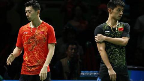 2014乒乓球世界杯决赛张继科VS马龙集锦加颁奖