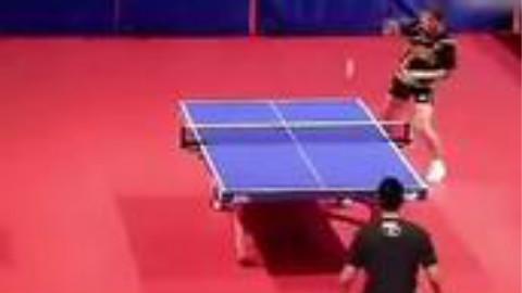 张继科用羽毛球拍和林丹打乒乓球!论无敌的寂寞