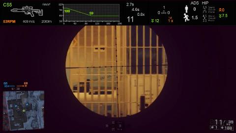 小A战地4武器推荐之技术型冲锋狙CS5
