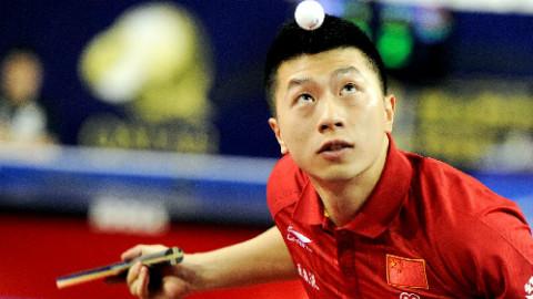 中国乒乓的男神!马龙可怕的实力留给对方的只有绝望!