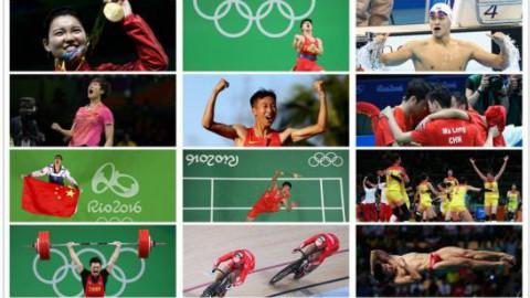 【里约奥运】15分钟回顾中国奥运26金 重温激情时刻【超清】