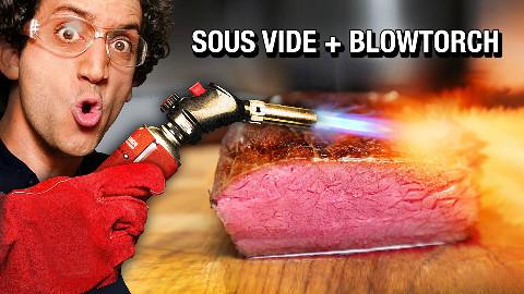 【soso字幕】法国帅厨 最最最完美的牛排 低温真空烹制 @Sofronio