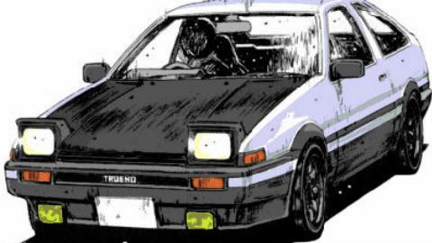 丰田超有创意的广告:不同的世界,唯一的AE86