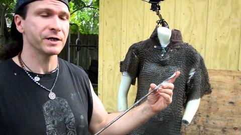 【盔甲科普】据说古欧洲锁子甲一刺就穿,一砍就烂?【普罗米修斯汉化组】