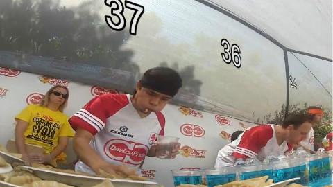 10分钟吃343个饺子