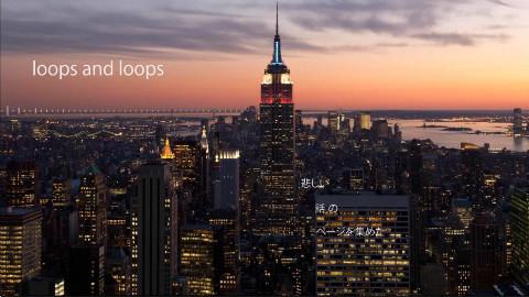 【藤原バナナ】Loops and Loops