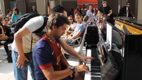 那些巧遇下的钢琴合奏