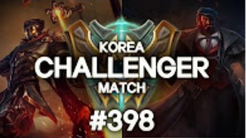 快速看完一局韩服王者质量局#398 Ambition, CoreJJ, Crown
