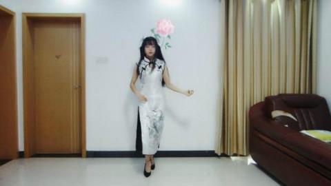 【_困君_】【极乐净土】旗袍 10cm细跟无防水台