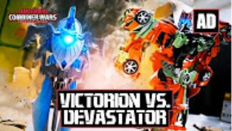 【酷炫到没朋友】Victorion vs. Devastator