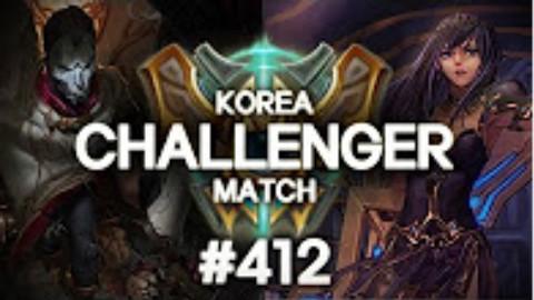 快速看完一局韩服王者质量局#412  Chaser, Crash, Yunyi