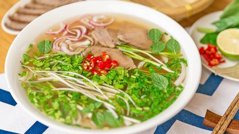 教你做越南牛肉汤河粉PHO丨绵羊料理