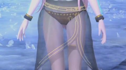 【柔美透视风】美到窒息的巡音女王【DYE】【60fps】【附字幕】