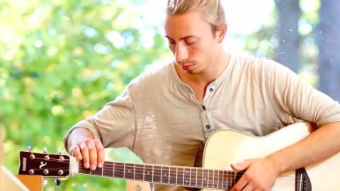 【指弹】反手 吉他独奏 英伦摇滚 酷玩乐队Paradise