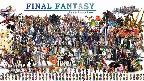 最终幻想游戏进化史