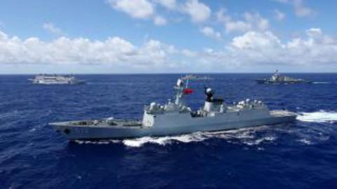逐浪太平洋——中国海军2016环太军演实录