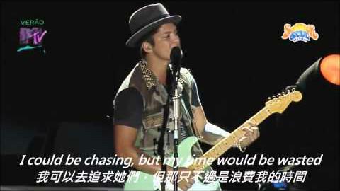 火星哥布鲁诺Bruno Mars 粉丝太贪心的结果 【中文字幕】