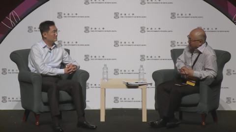 主持人问马化腾如何看国外公司无法进中国,马总回答我给100分!