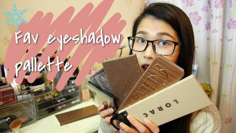 眼影盘分享【Favorite makeup palettes】MissQbecca