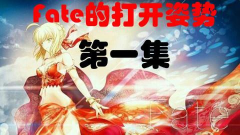 【小辫儿闲说】Fate的正确打开姿势(一):樱线前的准备 FSN线剧情回顾~