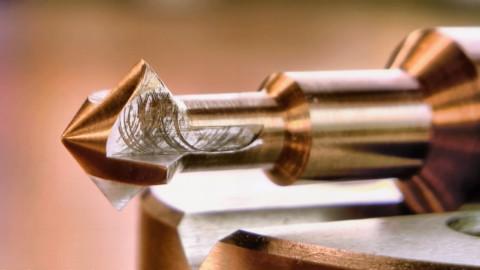 牛人自制了个钻头,这工艺看看都觉得舒服!
